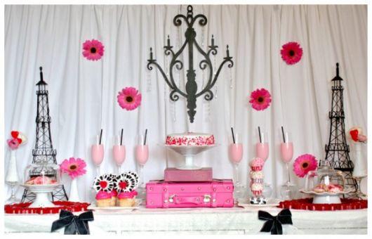 30-year-old paris-black-pink party