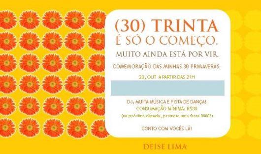 30-year invitation