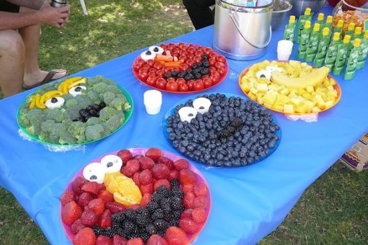 children's party table