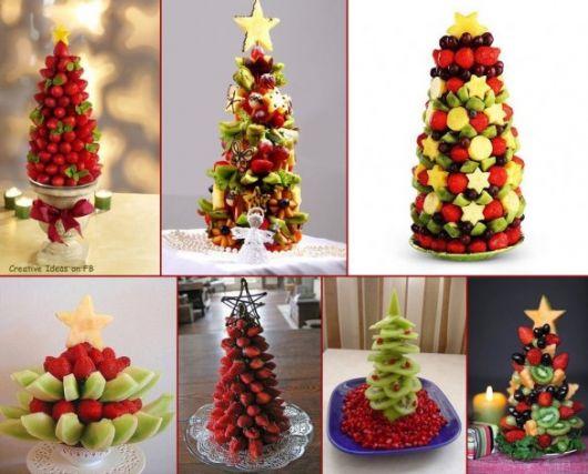 Christmas fruit table ideas