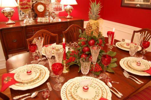 fruit table romantic dinner
