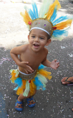 fun and simple children's indian costume