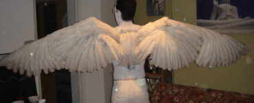 What are angel wings made of?